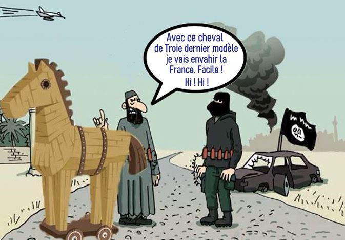 CHEVAL DE TROIE ET TERRORISME