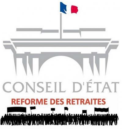 Conseil d'Etat - réforme des retraites