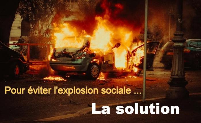 EXPLOSION SOCIALE