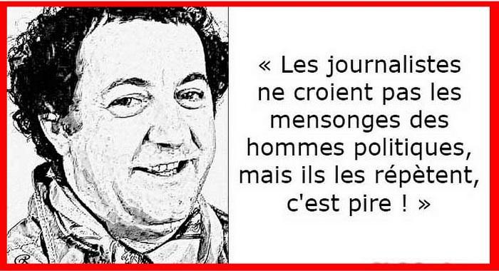 LES MENSONGES DES JOURNALISTES