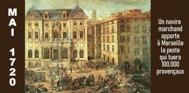 LA PESTE À MARSEILLE EN 1720