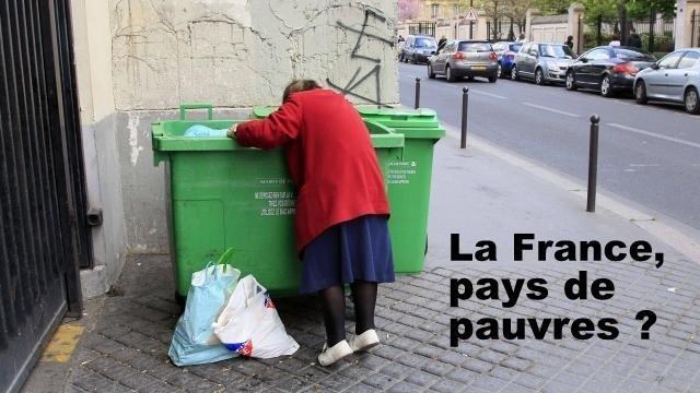 LA FRANCE, PAYS DE PAUVRES