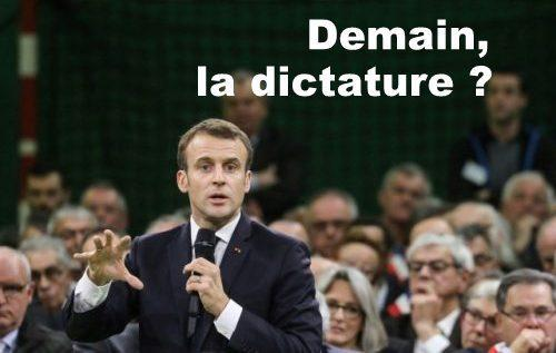 DEMAIN LA DICTATURE ?