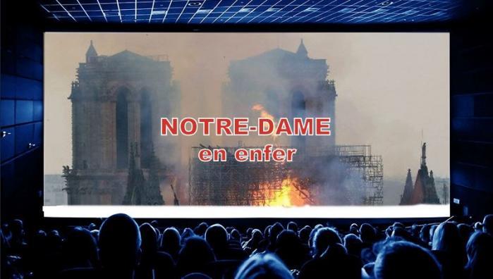 NOTRE-DAME DE PARIS EN ENFER