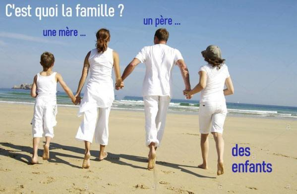 LE PÈRE ET SA FAMILLE