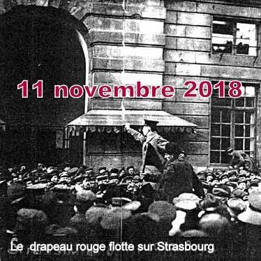 STRASBOURG 11 NOVEMBRE 1918