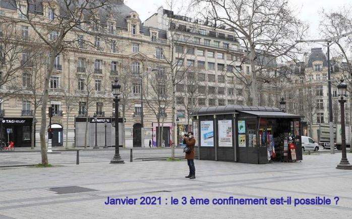 JANVIER 2021 : CONFINEMENT ?
